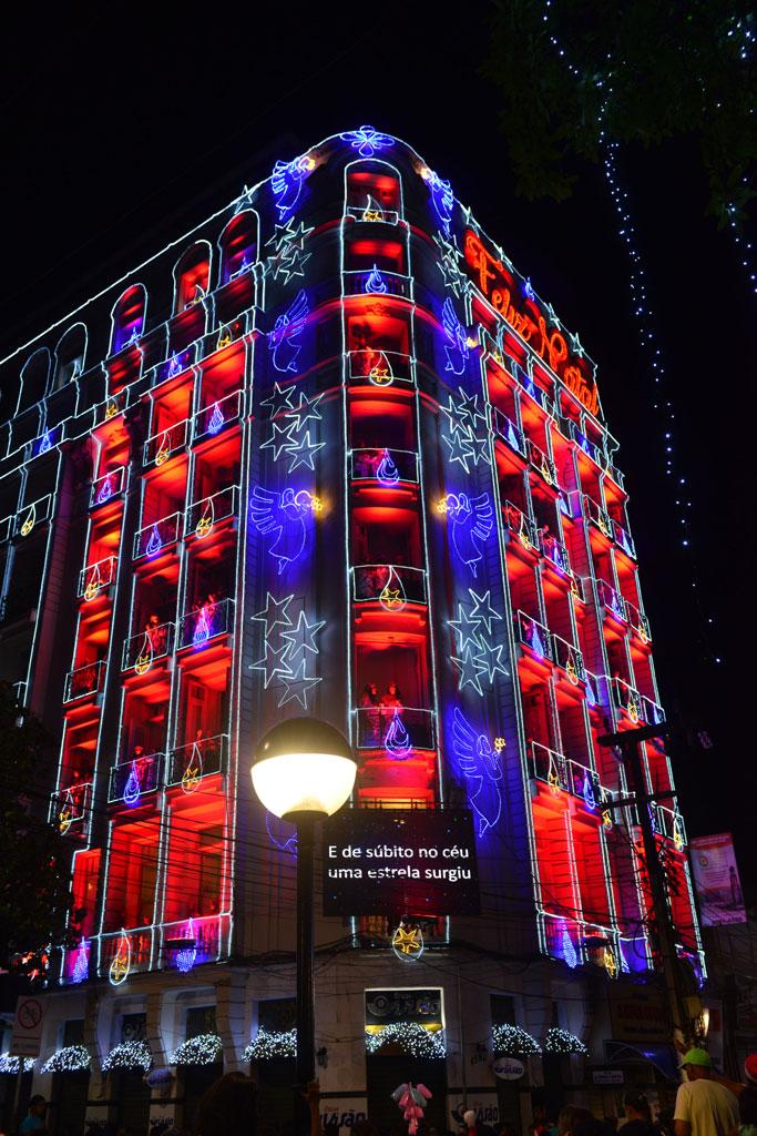 Coral da Luz no Hotel Excelsior - Crédito: Falcão Júnior