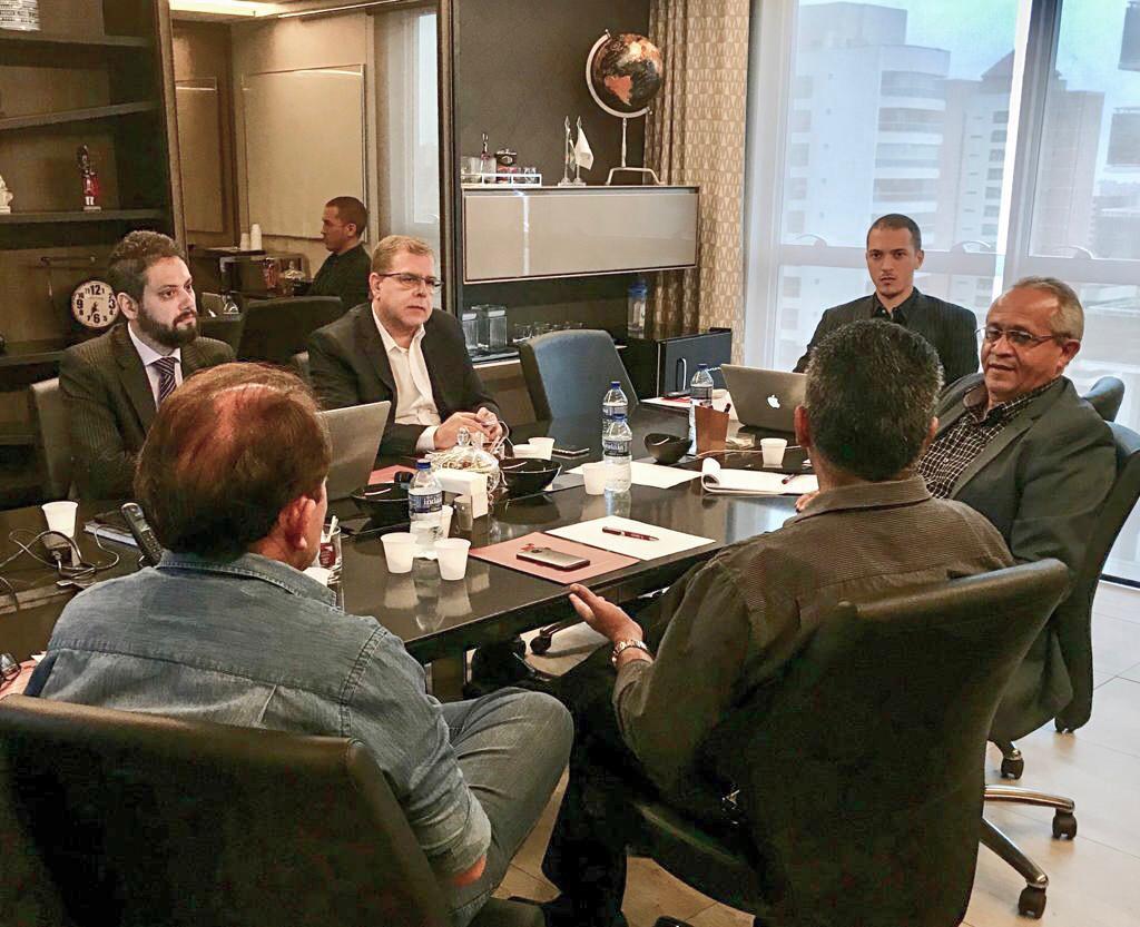 Reunião de planejamento da Diretoria da FAMPEC